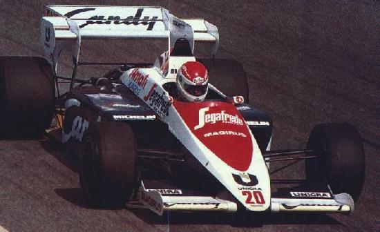 Debut de Martini pela Toleman