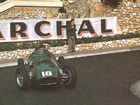 Mike Hawthorn, Vanwall, 1955 Monaco GP