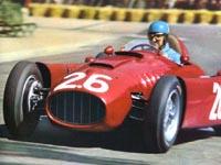 Alberto Ascari, Lancia D50, 1955 Monaco GP