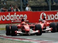 Michael Schumacher, Rubens Barrichello, Ferrari F2004, Monza 2004