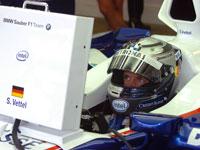 Sebastian Vettel, BMW Sauber F1.07, Indianapolis, 2007 US GP
