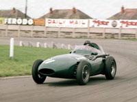 Tony Brooks, Vanwall, 1957 British GP