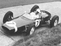 Stirling Moss, Walker Lotus-Climax 18/21, 1961 German GP