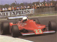 Patrick Gaillard, Ensign N179, 1979 British GP