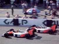 Senna, Prost