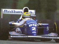 Ayrton Senna, Williams-Renault FW16, Imola, 1994 San Marino GP