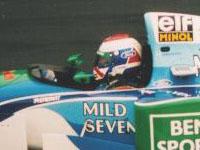Jos Verstappen, Benetton-Ford B194, 1994 Belgian GP